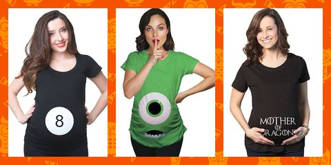 dede267124a62 15 Best Pregnant Halloween Shirts for Expecting Moms - Easy ...