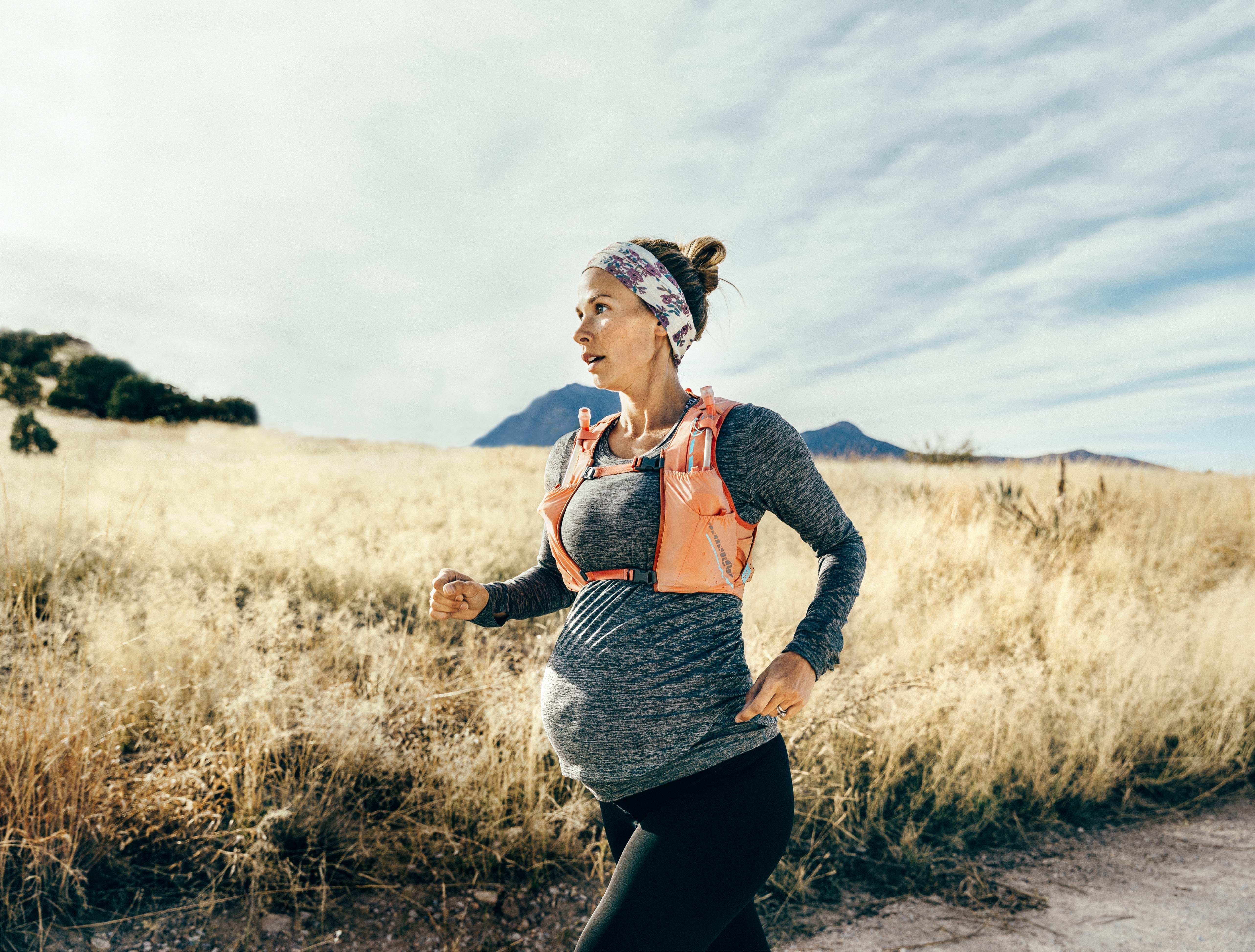 Baby on board - the best maternity running kit