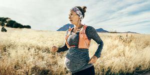 best maternity running kit