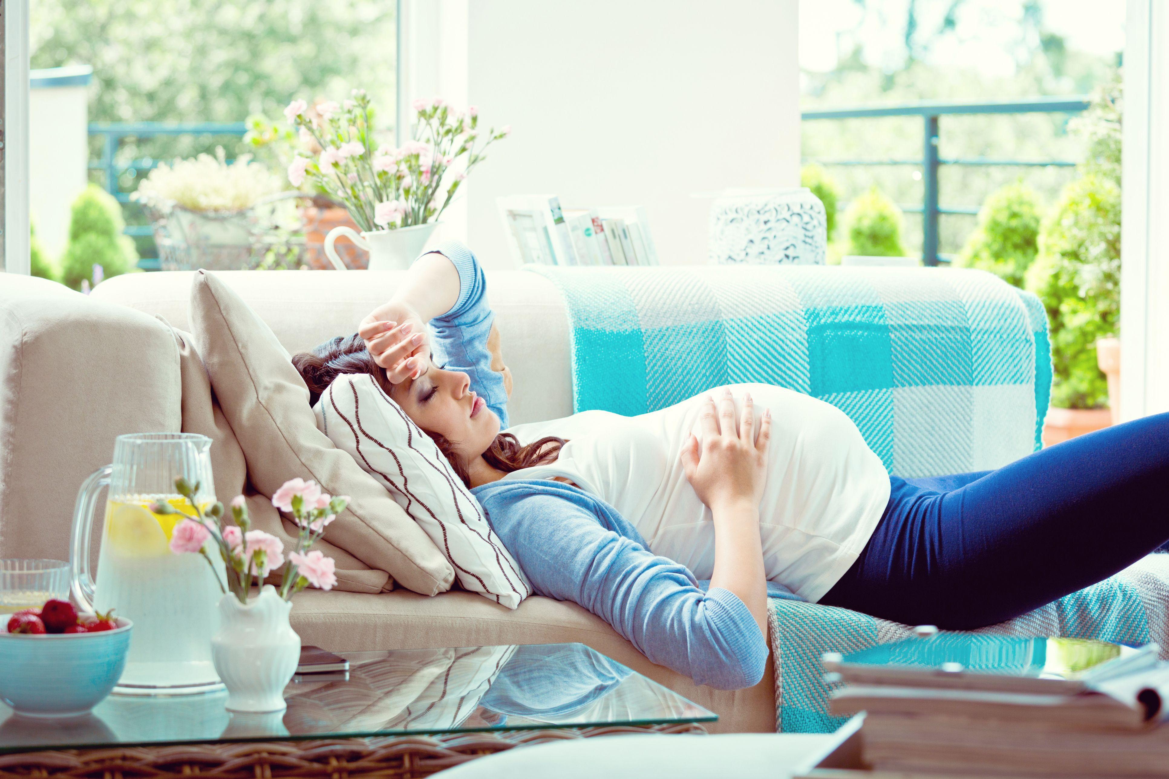 Tos seca en el primer mes de embarazo
