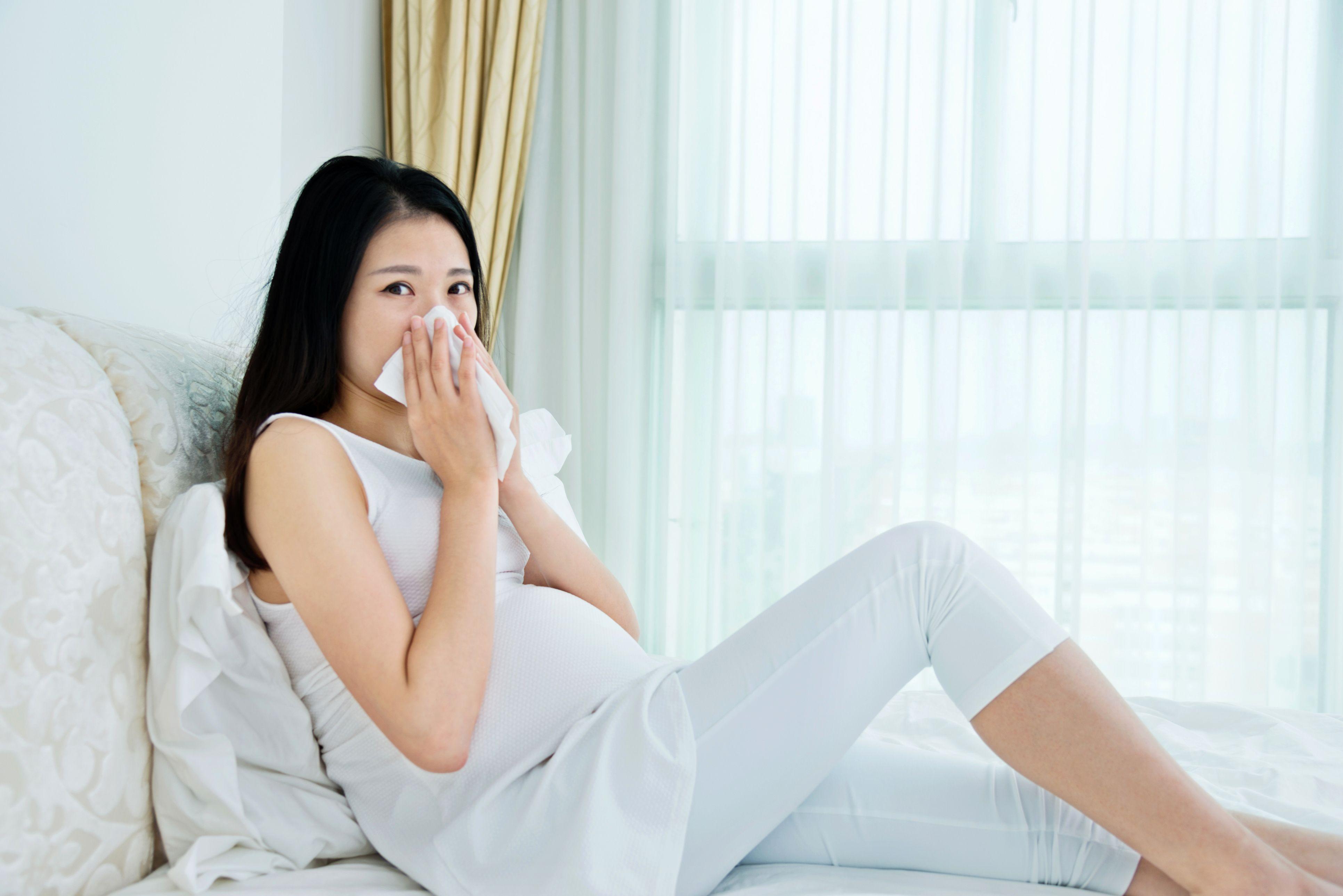 embarazo y catarro