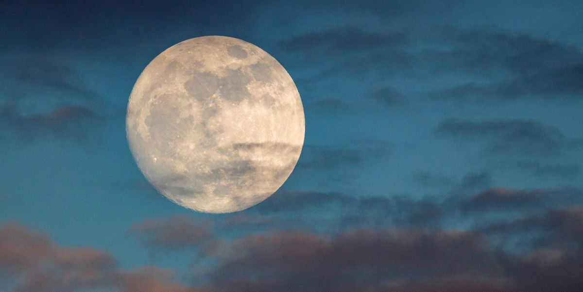 """The Real Meaning Behind the Phrase """"Blue Moon""""—and Why the Lunar Event Is So Rare"""