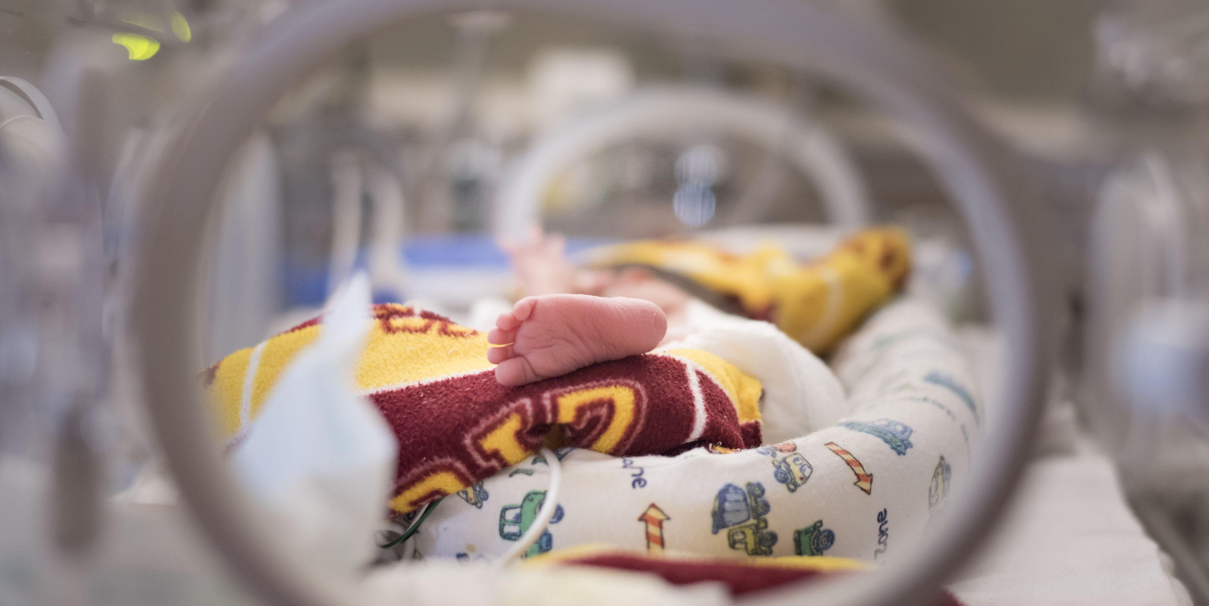 bebé pramaturo