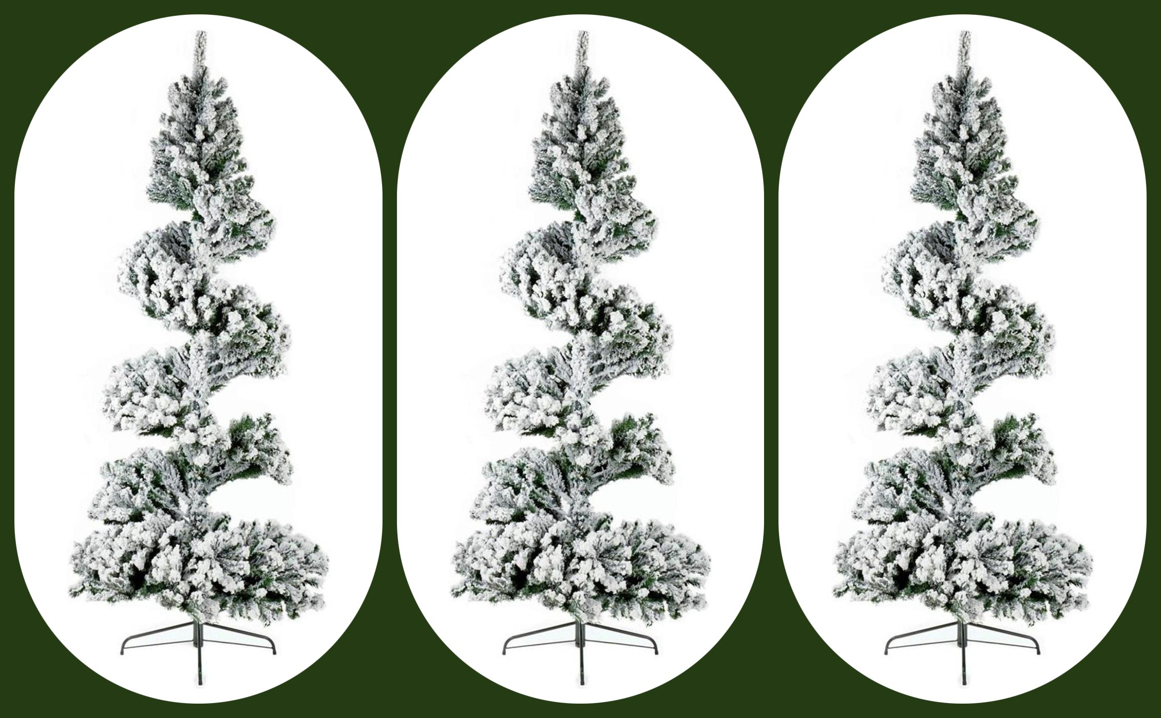Argos is selling a spiral Christmas tree this year – but would you buy one?