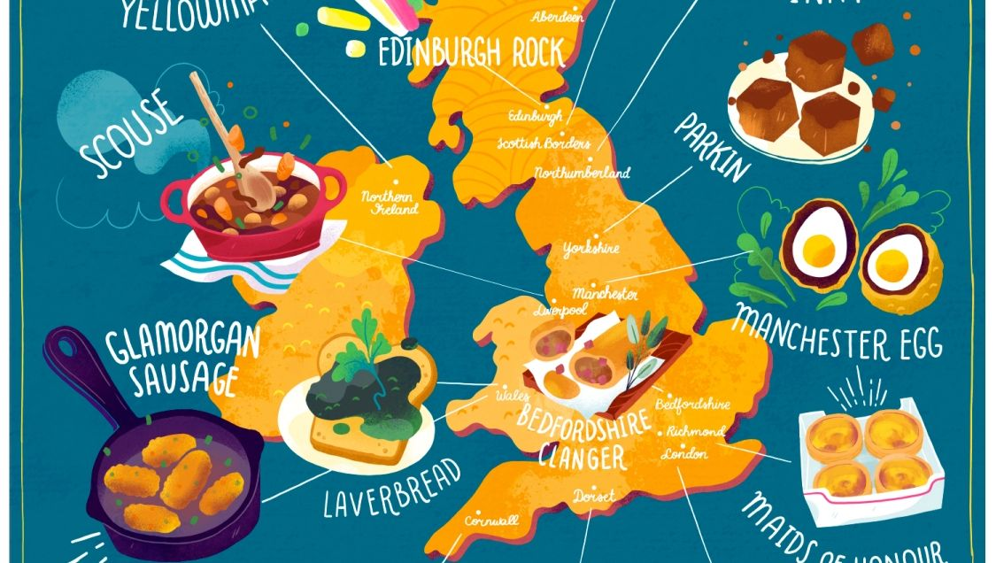 This is the ultimate foodie tour of the entire UK