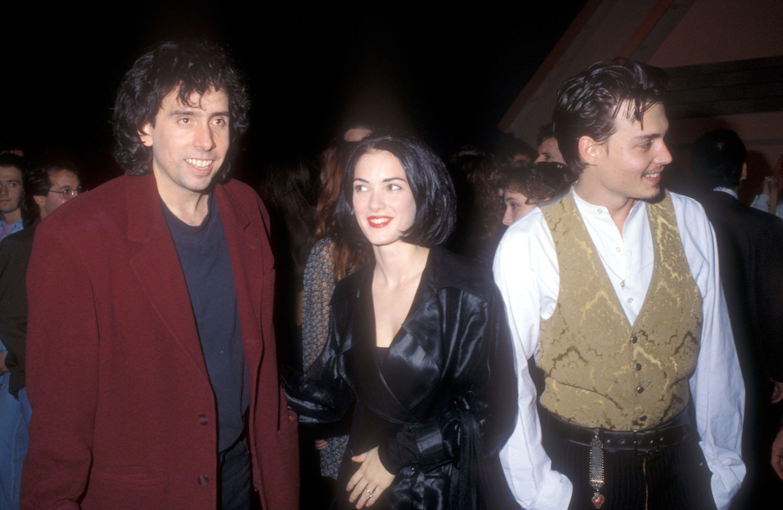 Fotos de la premiere de 'Eduardo Manostijeras' en 1990