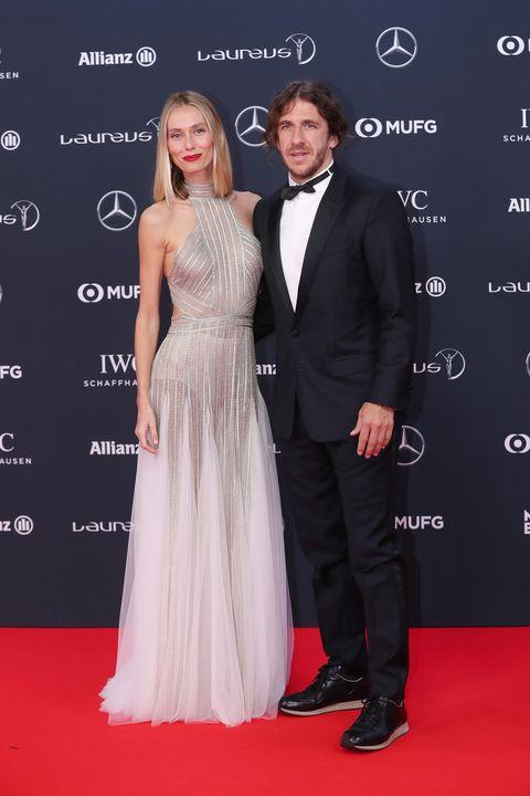 Premios Laureus deportistas alfombra roja