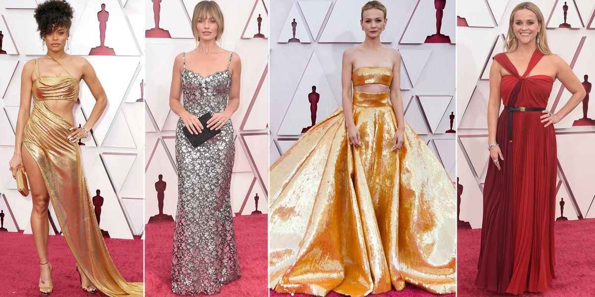 Premios Oscar 2021: los looks y vestidos de la alfombra roja