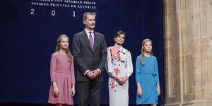 Infanta Sofía, Princesa Leonor, Reina Letizia, Rey Felipe VI, Lindsey Vonn, Premios Princesa de Asturias