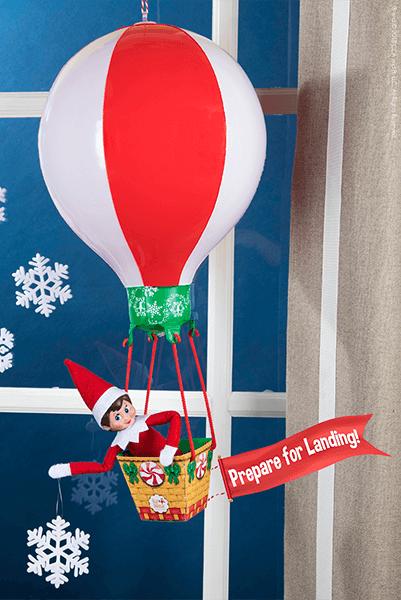 Elf on the Shelf Return Ideas Prepare for Landing