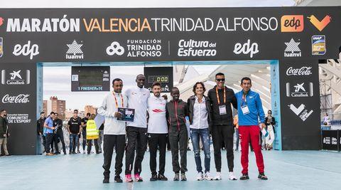 Maratón Valencia Trinidad Alfonso