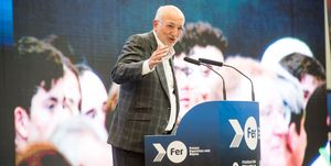 Juan Roig durante la presentación del Proyecto Fer 2019