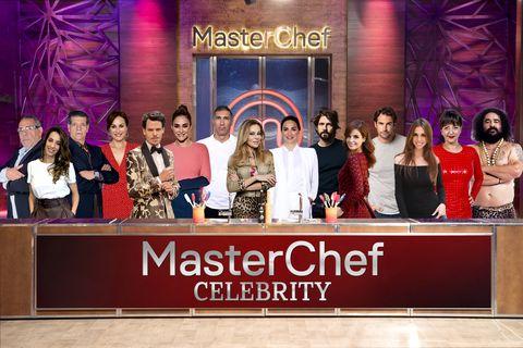 Master Chef celebrity 4 concursantes