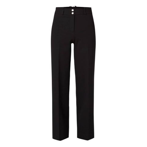 Vanilia High Waist Wide Fit Pantalon