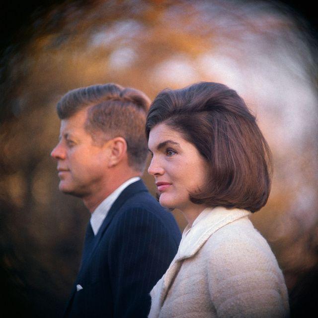 Jackie and John F. Kennedy