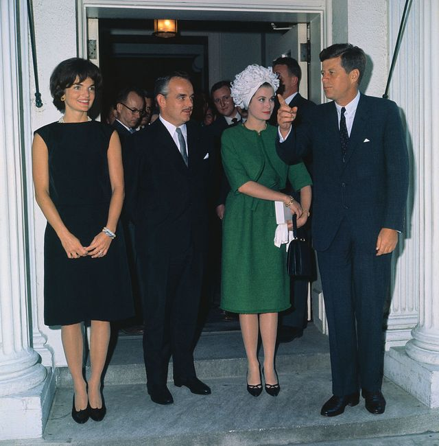 john f kennedy and royalty