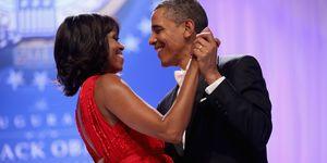 Michelle Obama en Barack Obama