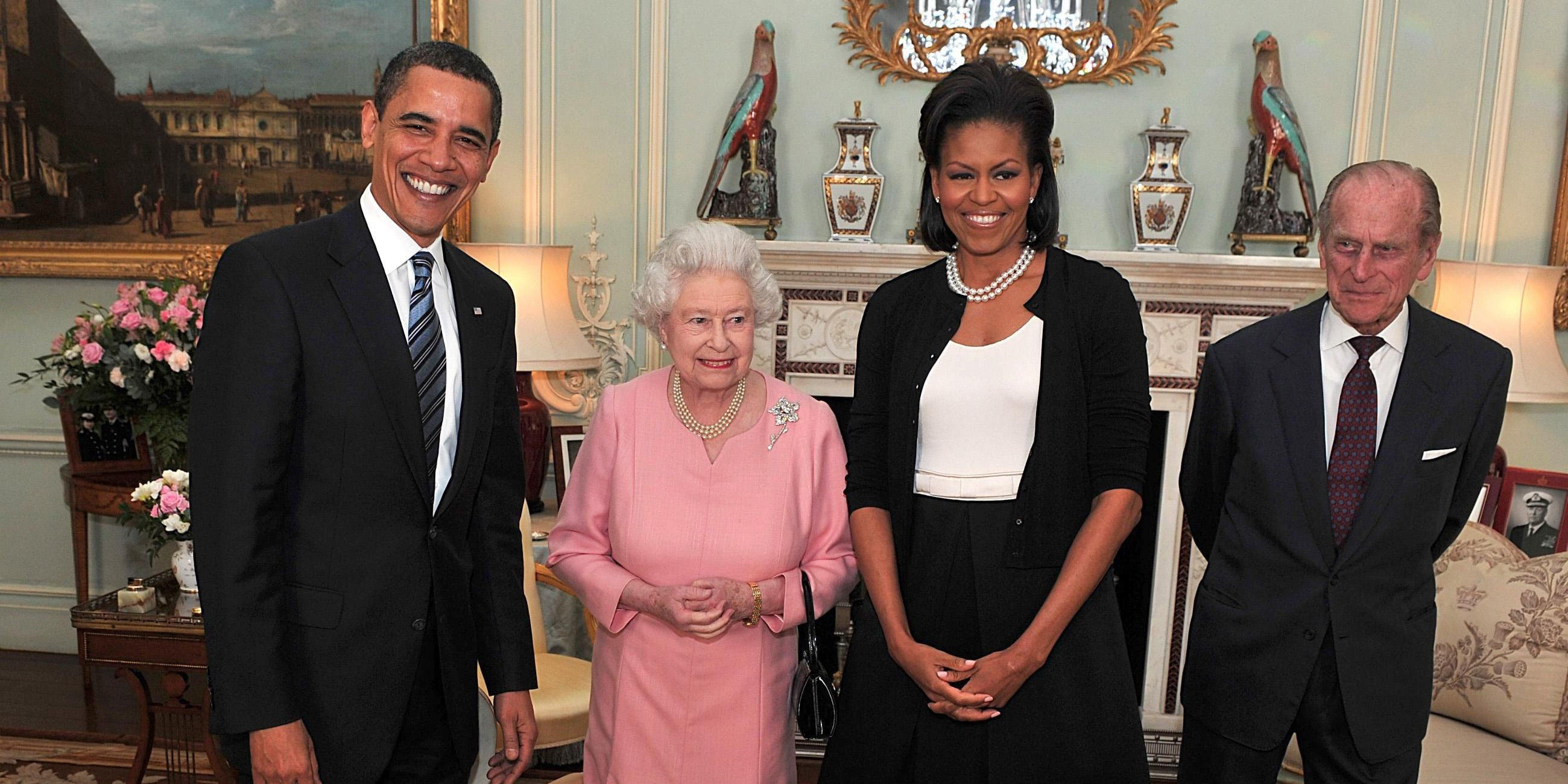 Queen Elizabeth II Hosts A Reception For World Leaders Attending The G20