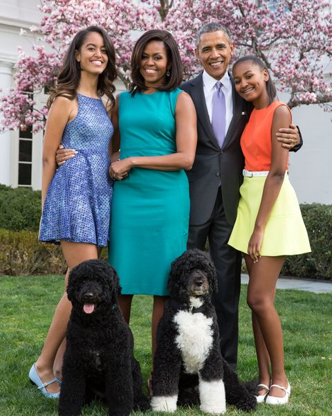 first family easter portrait