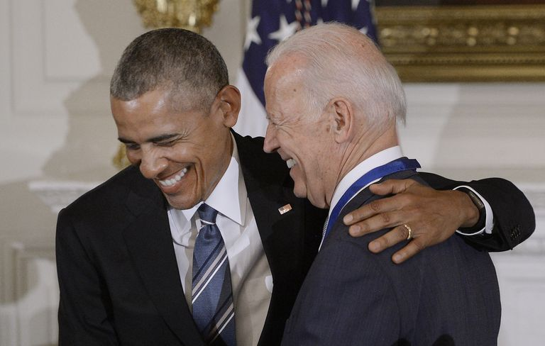 Former President Obama has vowed to not endorse a Democratic primary candidate, but he has given his former VP, Joe Biden, permission to invoke him all he wants.