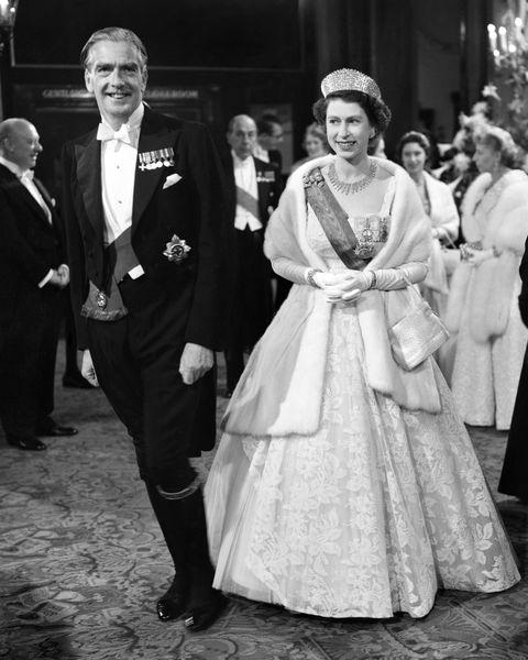 queen elizabeth anthony eden prime minister