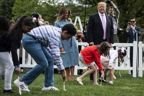 presidente donald j trump rollo de huevo de pascua