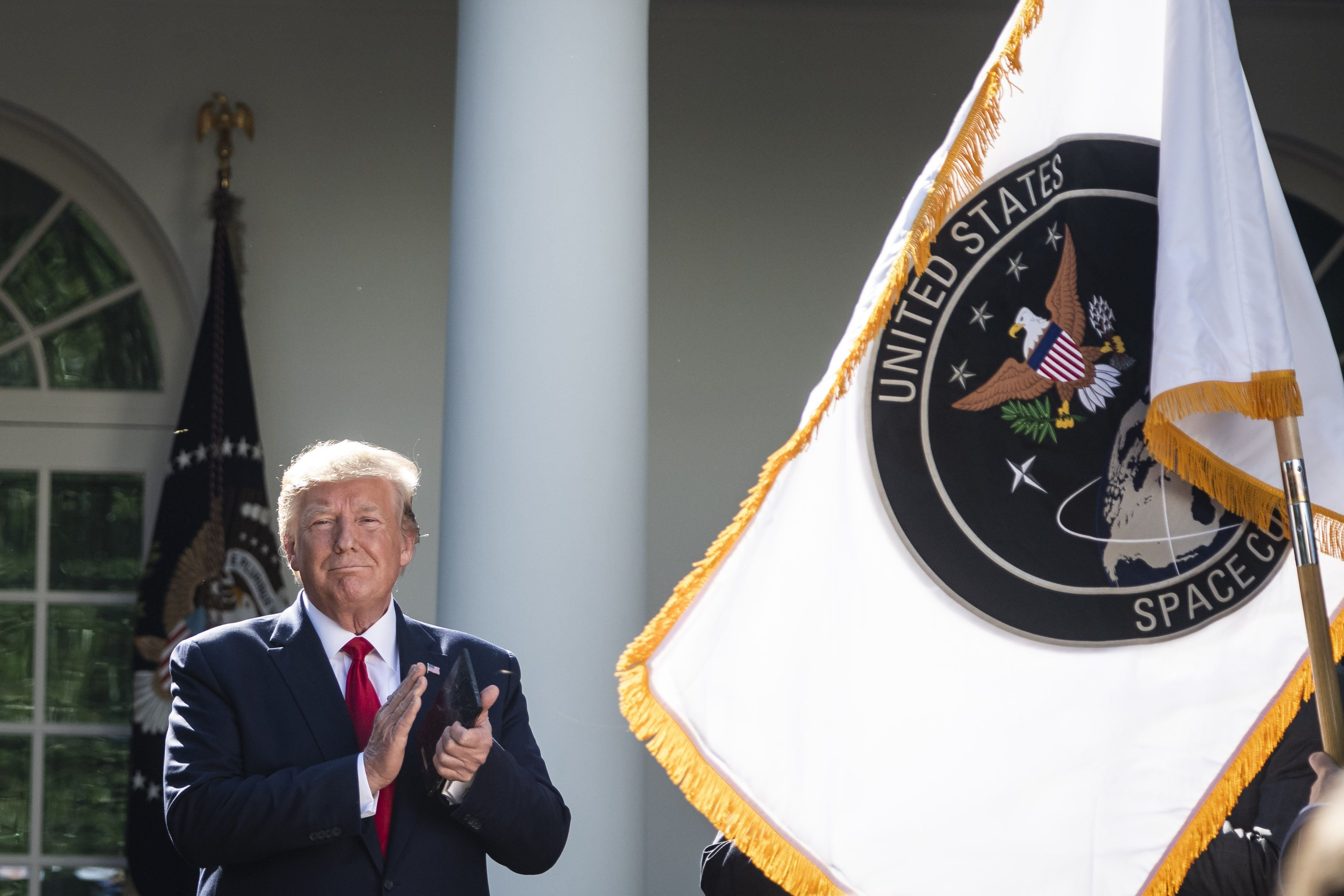 The Space Force Could Be Up and Running in 90 Days