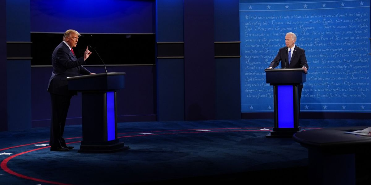 Mute Buttons and Malarkey: The Best Reactions to the Final 2020 Presidential Debate