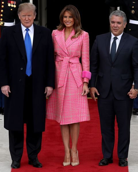 ccb44d1ecbed President Trump And First Lady Melania Welcome Colombian President Ivan  Duque Marquez And First Lady Maria