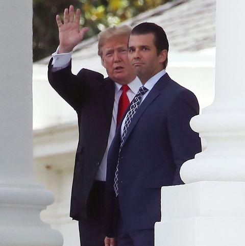 President Trump Departs White House For Montana