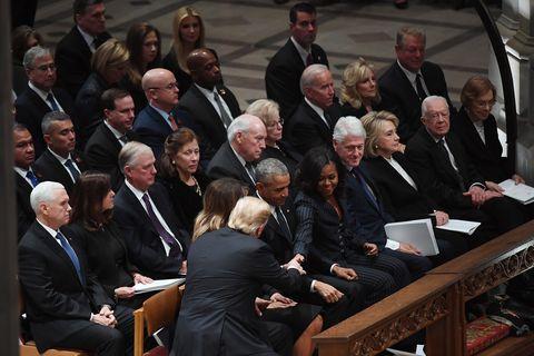 George H.W. Bush funeral service - Washington, DC