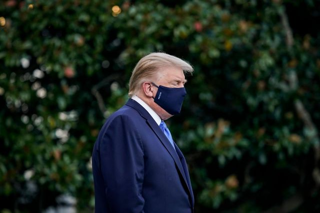 trump departs white house for walter reed medical center after covid 19 diagnosis