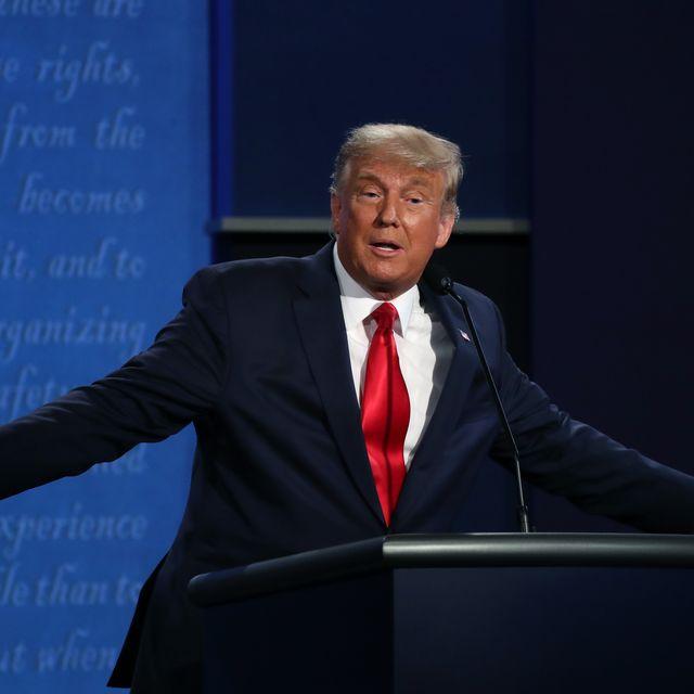 Дональд Трамп и Джо Байден участвуют в финальных дебатах перед президентскими выборами