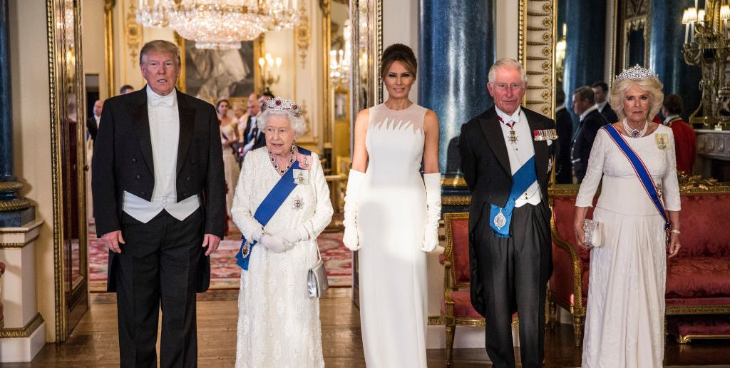 Every Photo Of The Trump State Dinner Hosted By Queen