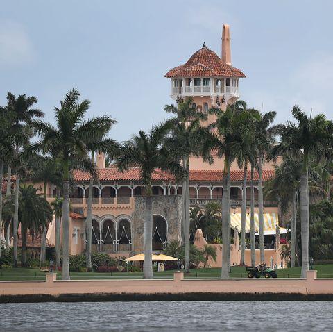 Donald Trump's Mar-A-Lago Resort in Palm Beach, Fla.