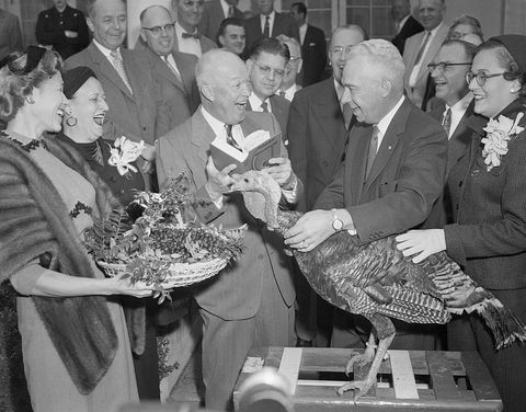 Eisenhower with Turkey