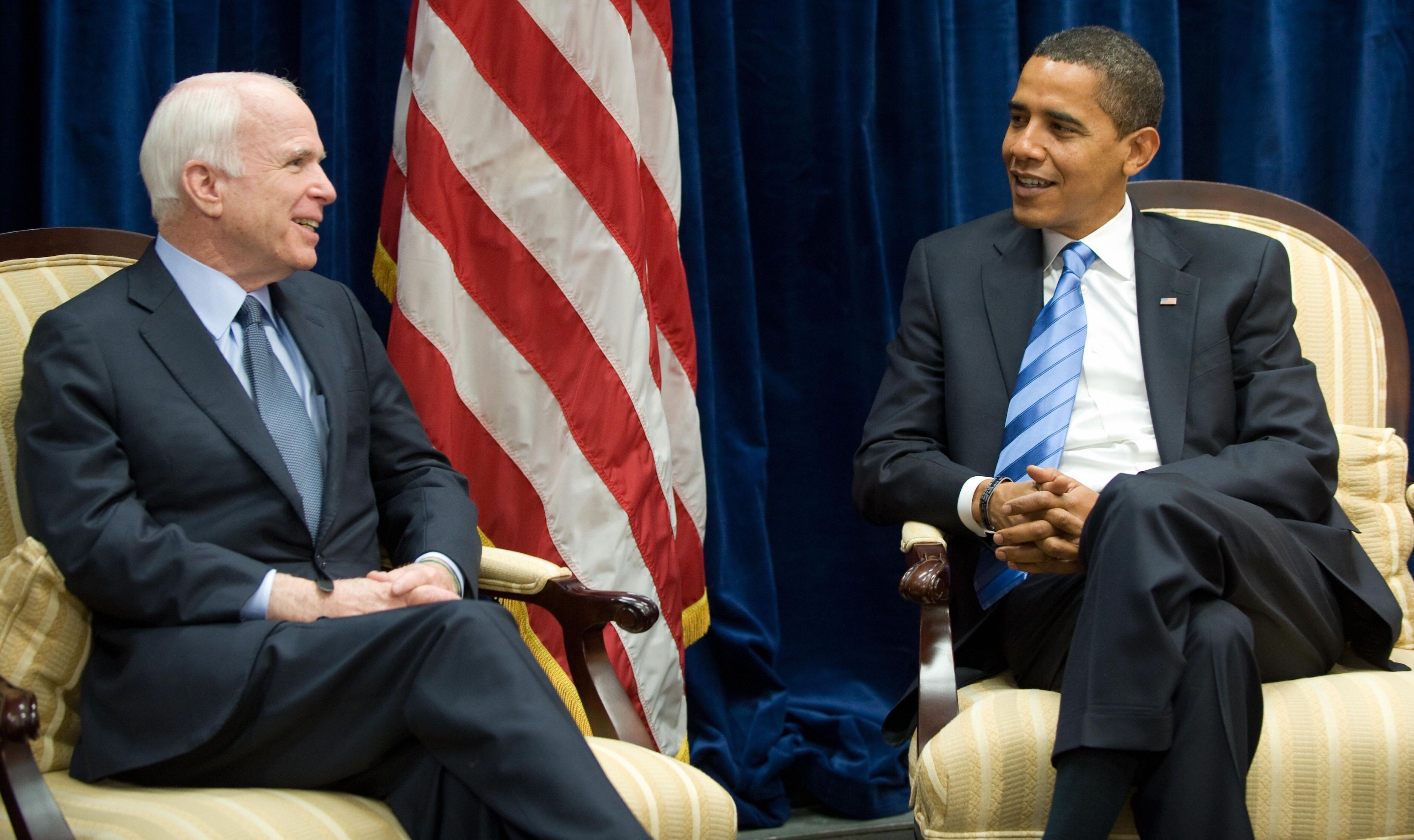 President Obama Pays Tribute to John McCain - Joe Biden\'s Comments ...