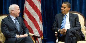 US President-elect Barack Obama meets wi
