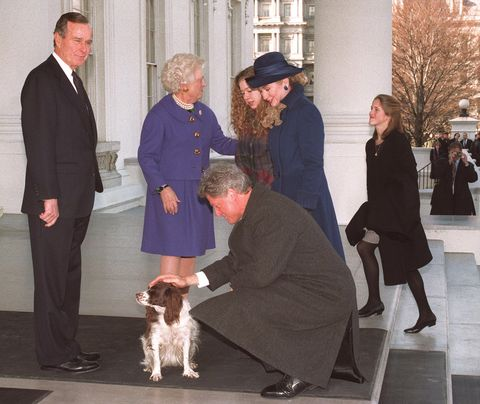 us president george bush l in a picture taken 20