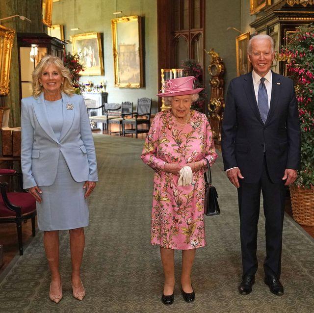 queen elizabeth joe and jill biden