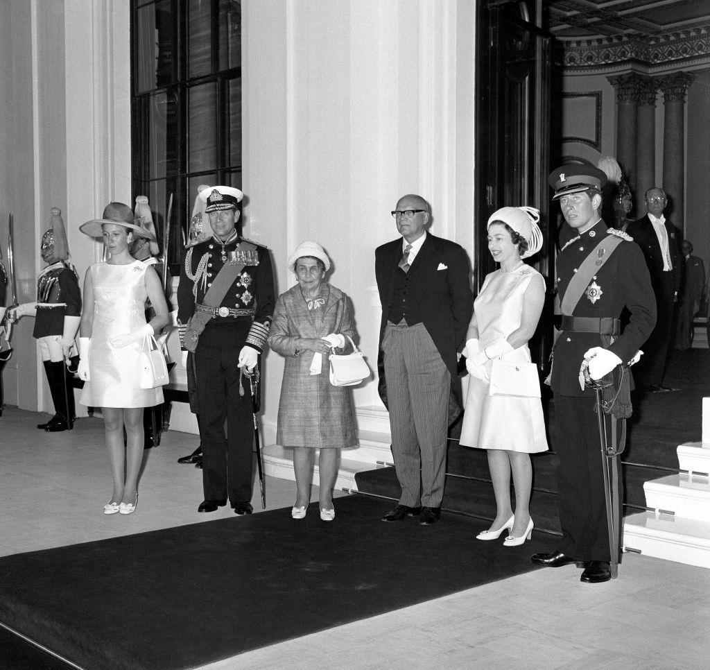 Politics - President Urho Kekkonen State Visit - Buckingham Palace, London
