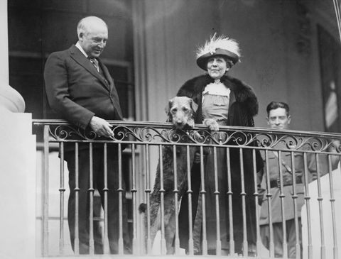 harding and first lady