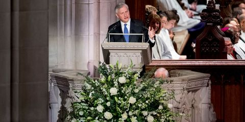 Jon Meacham Delivers Eulogy At George H W Bush S Funeral Read The Full Transcript