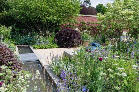 Chatsworth Flower Show gardens 2019