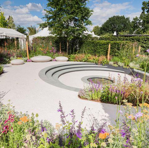 Hampton Court Flower Garden