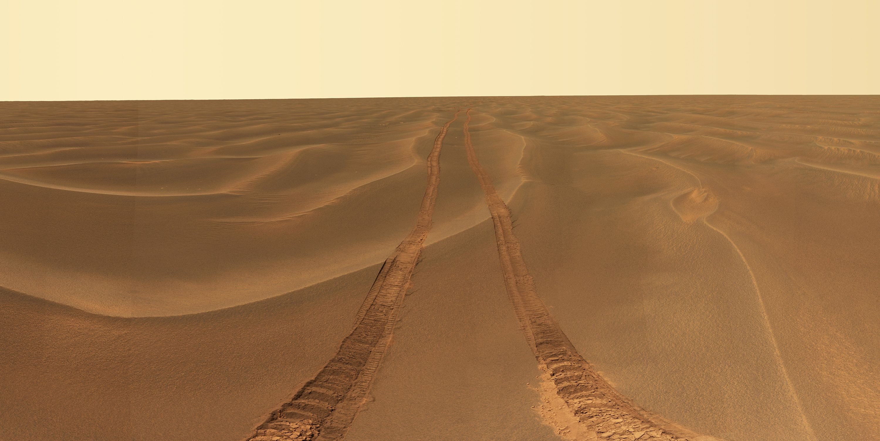 opportunity rover tracks