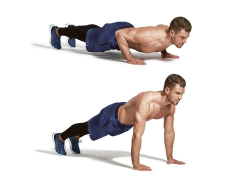 press up, arm, plank, fitness professional, chest, joint, leg, muscle, knee, abdomen,