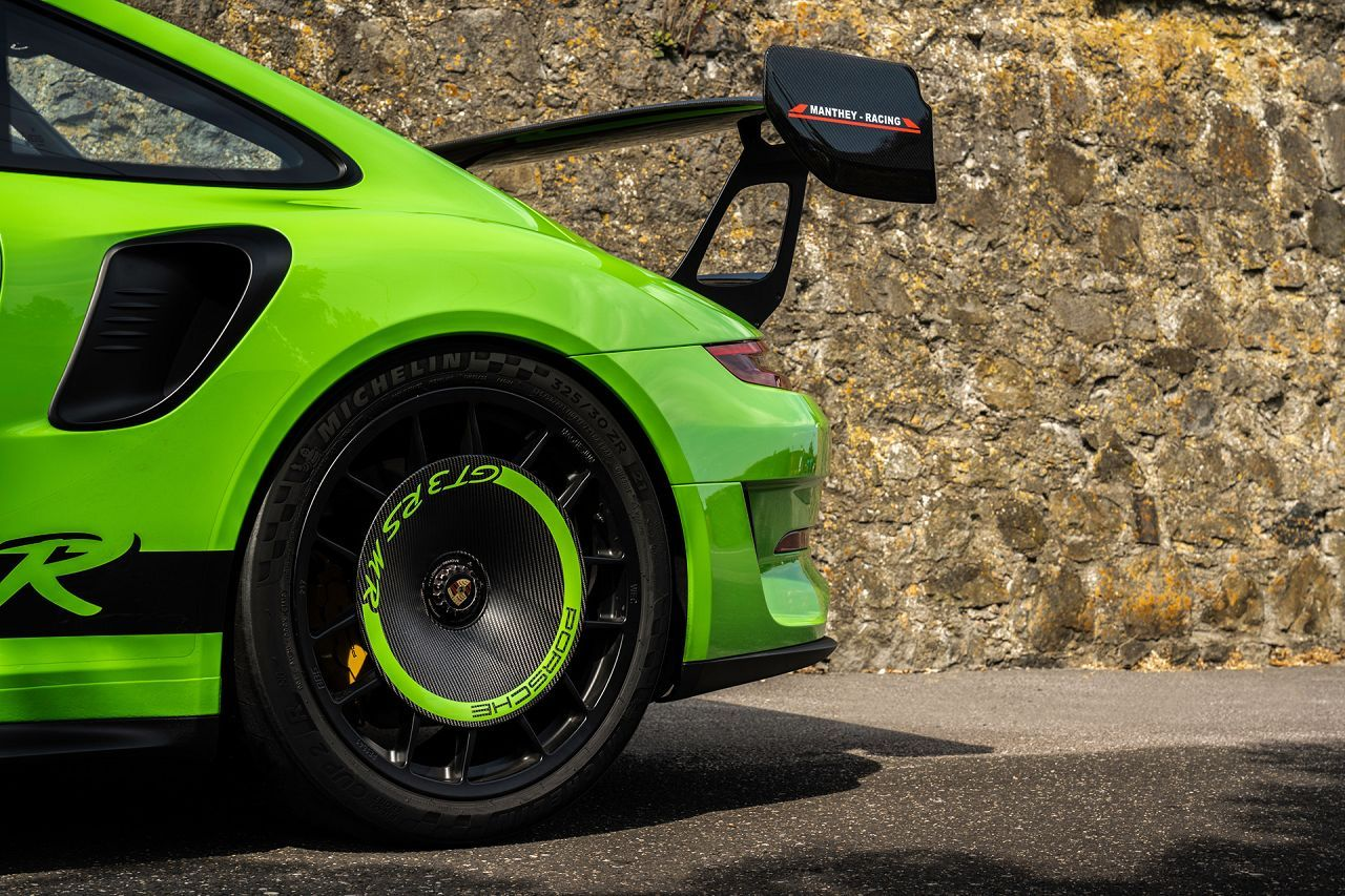 These Porsche Gt3 Rs Wheel Covers Are Rad And Functional