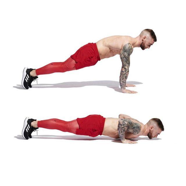 30日間,300回の腕立て伏せ,毎日続けてた,大胸筋,腹筋,効果,pushup,chest,
