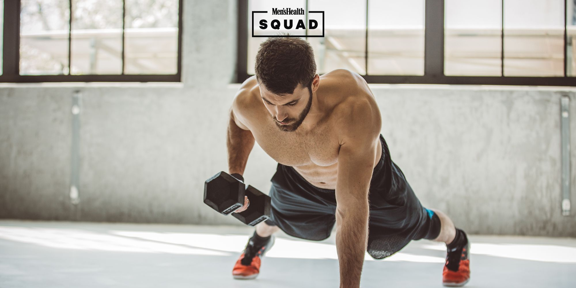 The Home Dumbbell Workout That Smokes Your Chest, Triceps and Back in 4 Moves